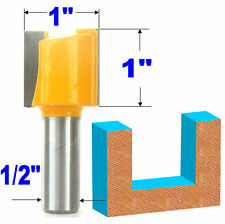 "1 pc 1/2 SH Straight 1"" Diameter  & 1"" Blade Router Router Bit sct-888"