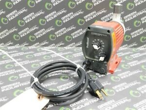 USED ProMinent Concept Plus CNPA0704PVT200D01 Metering Pump 1.03 gph 102 psi