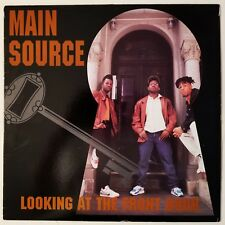 1990 - MAIN SOURCE - LOOKING AT THE FRONT DOOR - WILD PITCH ORIGINAL PRESSING