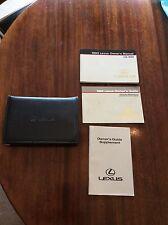 1992 LEXUS LS 400 OWNER'S MANUAL, OWNER'S GUIDE, Warranty Maint & Gen Info