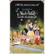 Snow White Disney Film Blechschild