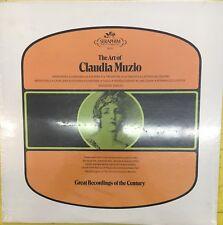 The Art Of CLAUDIA MUZIO Seraphim 60111 SEALED LP Classical