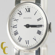 Adora Women's Fine Silver (.835) Fashion Hand-Winding Watch Great Gift for Her!