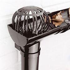 4 x Gutter Leaf Debris Trap Guard Drain Pipe Cover Downpipe Rainwater Protection