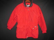 RAWIK Vtg Red Poly Insulated Waterproof Snow Ski Winter Jacket Coat Women's M T2