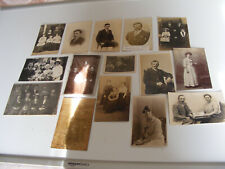More details for c1900 original photo postcards of bryant / lowe / read/ arnup /family of norwich