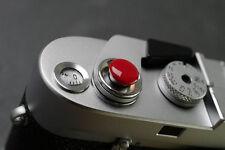 Red Convex Camera Shutter Release Button for Leica Canon Fuji