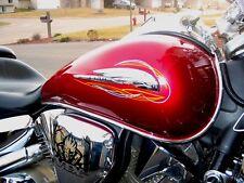Honda Shadow Motorcycle  Chrome Tank Trim