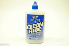 White Lightning Clean Ride Self-Cleaning Wax Lube 8oz