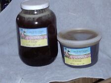 12lb one gallon raw Clover or Chaparral honey