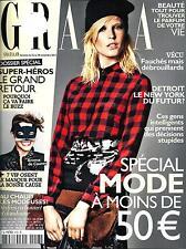 GRAZIA N°218 22 NOVEMBRE 2013  SPECIAL MODE/ SUPER-HEROS/ DETROIT/ PARFUMS
