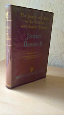 The Journal of a Tour to the Hebrides with Samuel Johnson, James Boswell, 1956