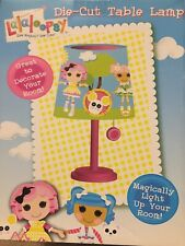 Lalaloopsy Die Cut Table Lamp Kids' Bedroom Décor Easy to Pull Chain New