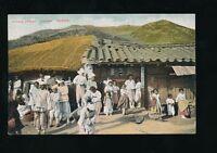 Korea CHUSAN Village St pre1919 PPC