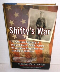 BOOK Shifty's War 506th PIR Band of Brothers Sharpshooter op 1st Ed 101st Airbn