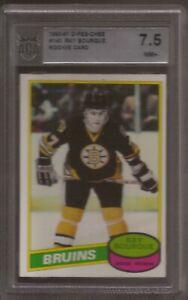 RAY BOURQUE 1980-81 O-pee-Chee Rookie #140 Graded ACA 7.5 Boston Bruins HOF