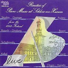 RARITIES OF PIANO MUSIC AT SCHLOSS VOR HUSUM VOL 4 NEW CD
