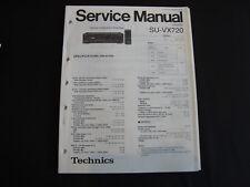 ORIGINAL SERVICE MANUAL TECHNICS ampliefier su-vx720
