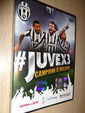 DVD N°1 JUVEX3 FC JUVENTUS CAMPIONE D'ITALIA 2013/2014 GLI INCREDIBILI JUVE X 3