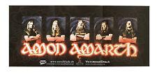 Amon Amarth-Band-Promo Poster-Plié/Folded-Pièce de collection
