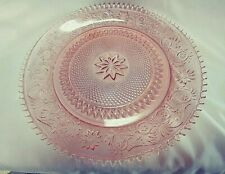 "Vintage Pink/Peach 12"" Tiera Exclusive Serving Plate / Platter"
