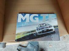 Mg Tf Owners Handbook