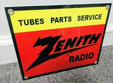 Zenith Radio Sign.smaller of 2 available