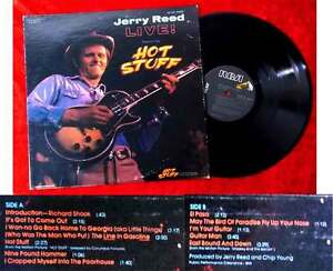 LP Jerry Reed: Hot Stuff (RCA AYL-1-4167) US 1979