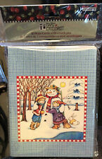 New ListingNew Mary Engelbreit Snowman Children 10 Note Cards With Envelopes