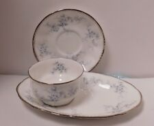 Paragon Bride's Choice Bone China Saucer Open Sugar Bowl and Under Tray 3 pieces