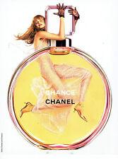 Publicité Advertising 018  2004  Chanel  parfum Chance