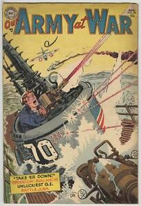 Our Army at War #25 August 1954 VG