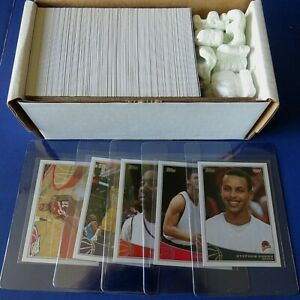 2009-10 TOPPS BASKETBALL COMPLETE SET 330 Cards CURRY, HARDEN RC ~ NM/MT MINT !!