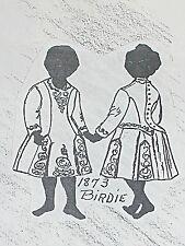 "Antique Doll Dress Pattern Taken from Antique childs Dress Birdi sizes 11 to 23"""