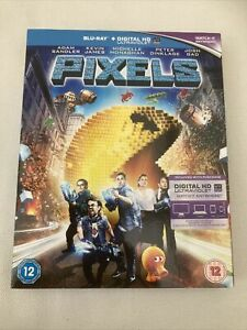 Pixels (Blu-ray, 2015) Pre Owned