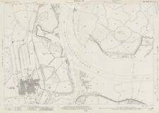 Kemsley Paper Mill. The Swale. Ordnance Survey Kent sheet XXI. 10 1939 old map