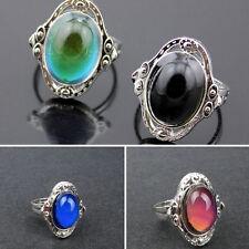 Retro Mood Ring Magic Color Changable  Temperature Control Jewelry Adjustable