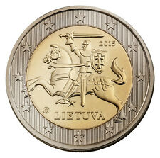 LITHUANIA  - 2 € Euro circulation coin 2015 uncirculated
