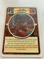 Doomtrooper fortification: club Arkadin German * Mutant chronicles ccg