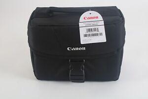 Canon EOS 200ES Shoulder Bag (Black) for DSLR Camera and 1-2 Lenses - New