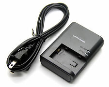 Battery Charger for Canon LEGRIA HF20 HF21 HF200 HF G10 HF G25 HF M31 HF M32