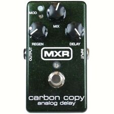 New Dunlop MXR M169 Carbon Copy Analog Delay Guitar Effects Pedal, Green