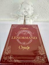 Oracle Lenormand Golden avec dorure neuf en Français par Lunea Weatherstone