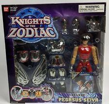 2003 Bandai Knights Of The Zodiac Deluxe Pegasus Action Figure Saint Seiya