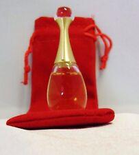 CHRISTIAN DIOR J'ADORE L'ABSOLU 5 ML EAU DE PARFUM + RED VELVET TOTE IN PICTURE