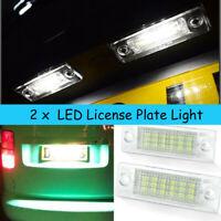 2x LED Kennzeichenbeleuchtung für VW T5 Passat  Caddy Touran Golf Plus CANBUS