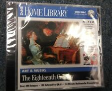Home Library Art Music The Eighteenth Century Cd Win/Mac 95/98/2K/Me/Xp New