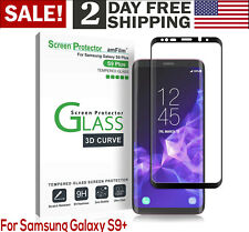 For Samsung Galaxy S9 Plus 3D Curve Dot Matrix Tempered Glass Screen Protector