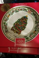 Lenox 2013 Jamaica Trees Around The World Plate Annual Christmas