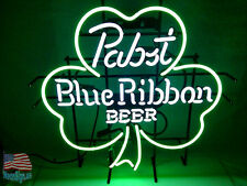 "Pabst Blue Ribbon Beer Pub Bar Neon Sign 20""x16"" From Usa"